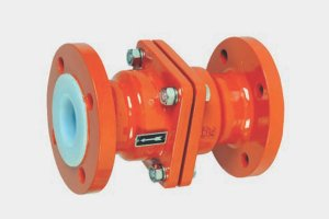 Lined Check Valve (Ball Type)