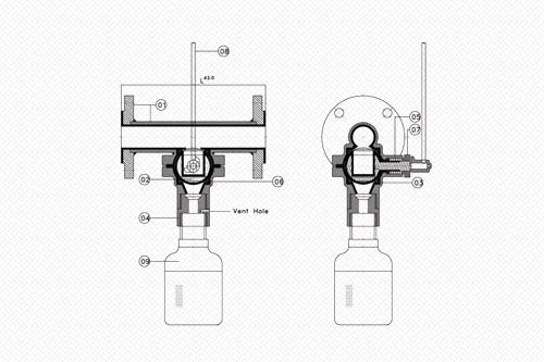 inline sampling valve line diagram